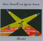 DAVE BURRELL Recital [with Tyrone Brown] album cover
